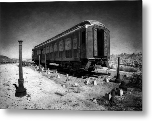 The Scarlet Lady In Darkness Metal Print