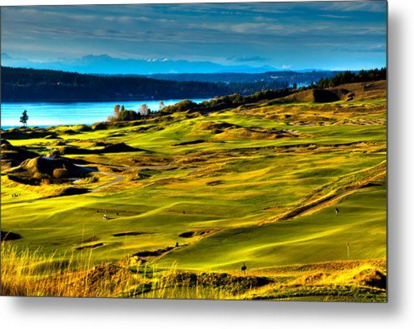 The Scenic Chambers Bay Golf Course - Location Of The 2015 U.s. Open Tournament Metal Print