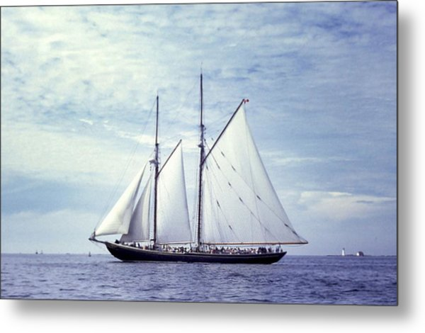 The Schooner Bluenose 2 Again Metal Print