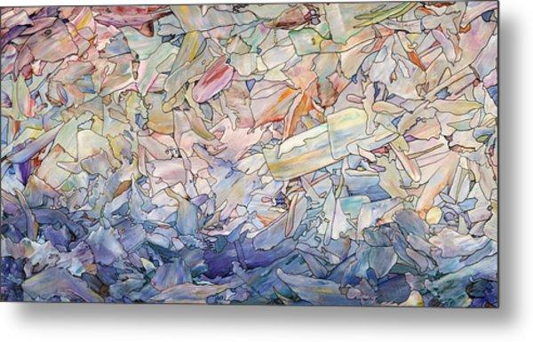 Fragmented Sea Metal Print