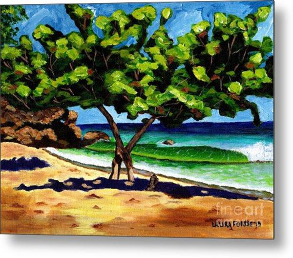 The Sea-grape Tree Metal Print