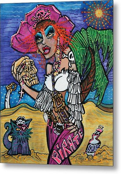 The Sea Queen Metal Print by Laura Barbosa