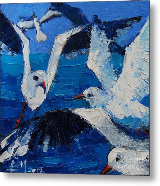 The Seagulls Metal Print