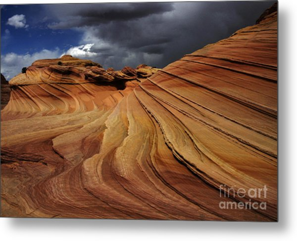 The Second Wave Metal Print