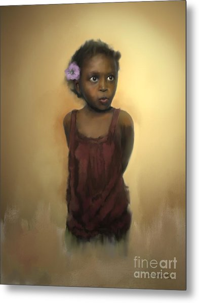 Metal Print featuring the digital art The Secret by Dwayne Glapion