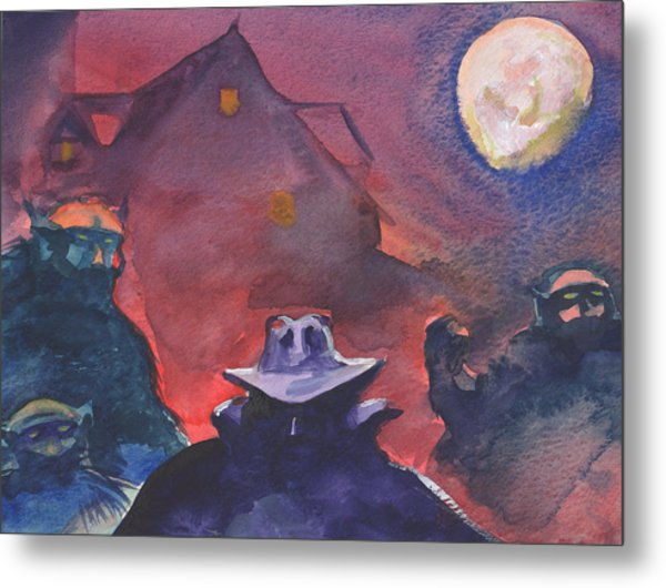 The Shadow Metal Print by T Ezell