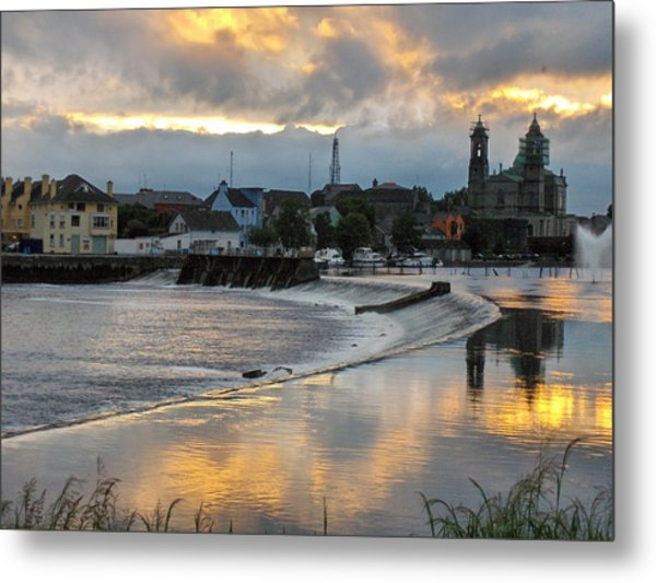 The Shannon River Metal Print