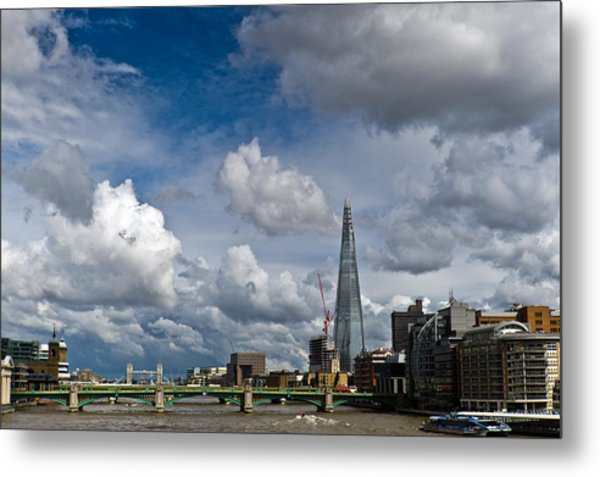 The Shard At Southwark Metal Print