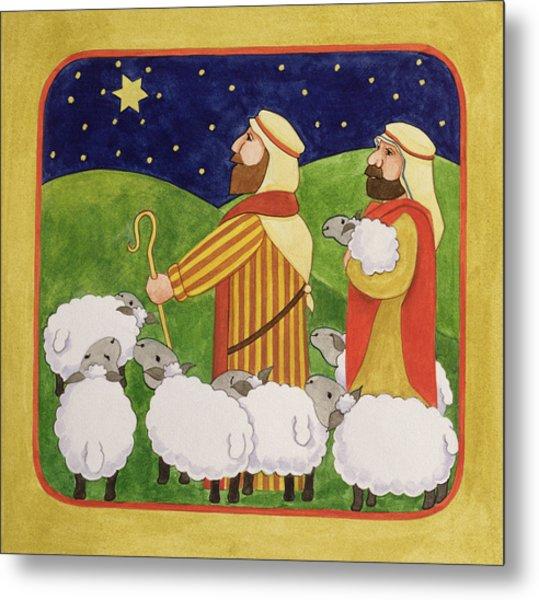 The Shepherds Metal Print