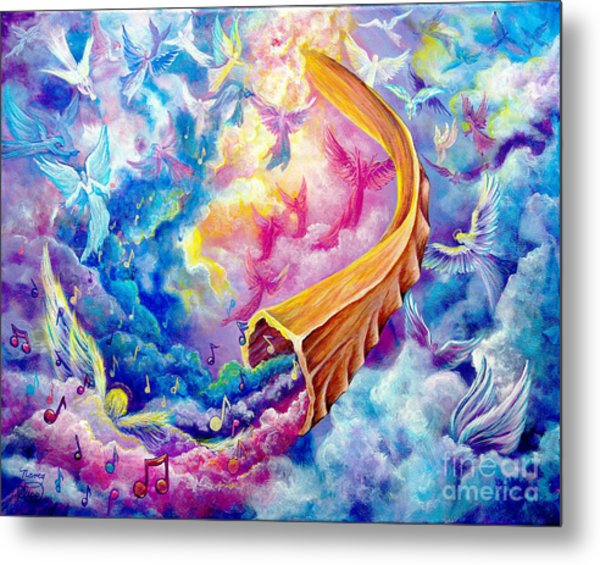 The Shofar Metal Print