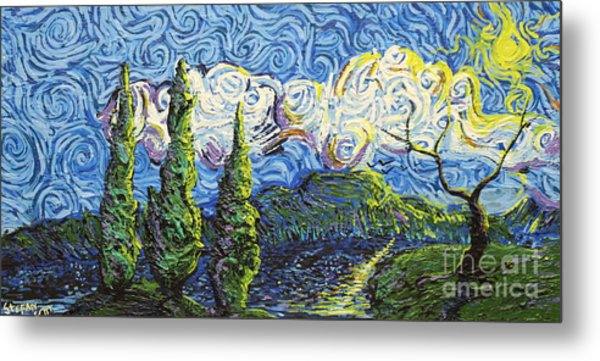 The Shores Of Dreams Metal Print