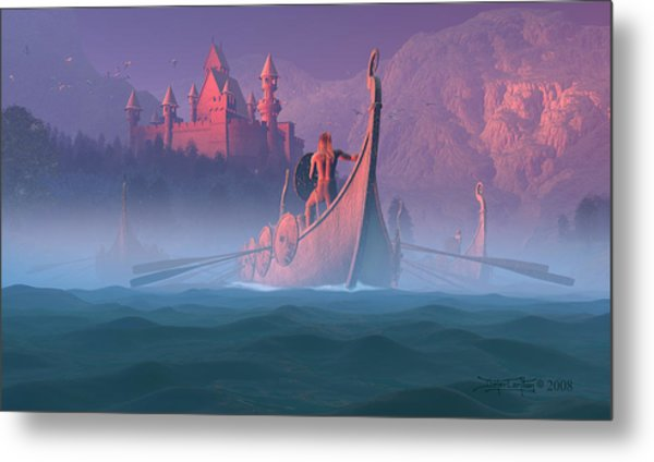 The Shores Of Valhalla Metal Print