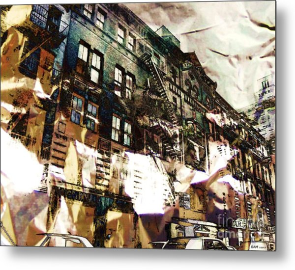 The Silver Factory / 231 East 47th Street Metal Print