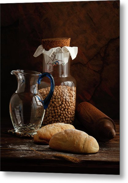 The Simple Life - Italian Breads Metal Print
