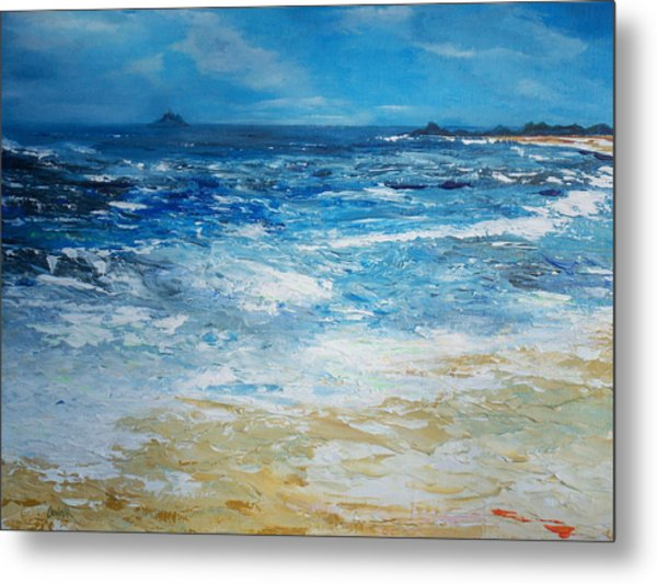 The Skellig Islands Metal Print
