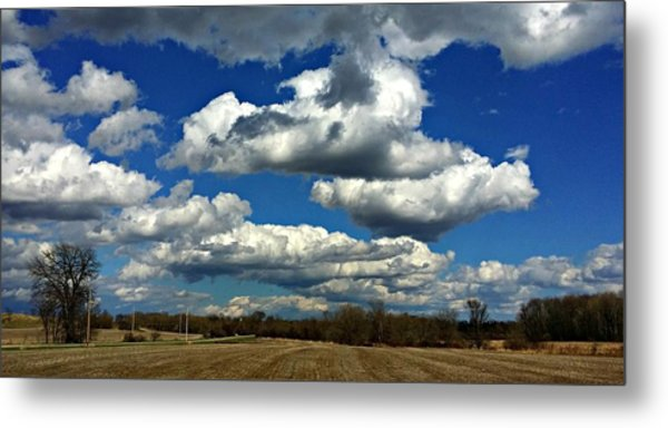 The Sky Is The Limit Metal Print by Joel Rams
