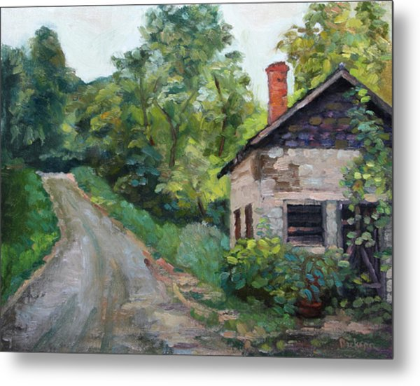 The Smokehouse Metal Print