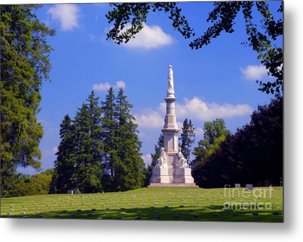 The Soldiers Monument Metal Print