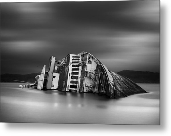 The Song Of The Sirens Metal Print by Chris Vasiliadis