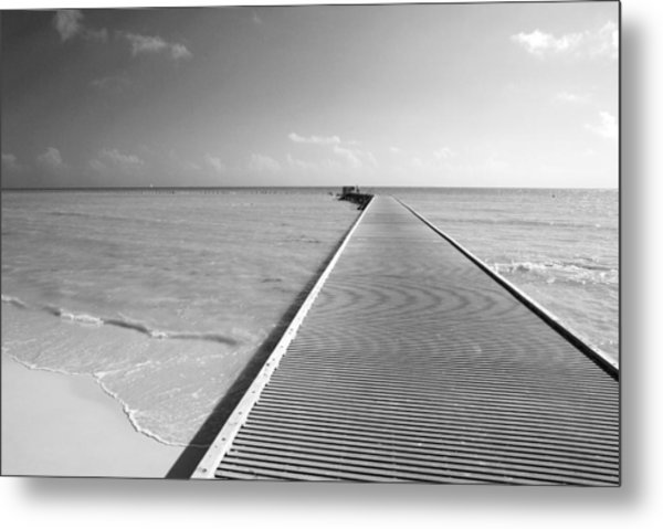 The Southernmost Pier Metal Print