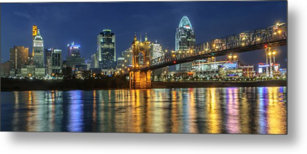 The Sparkle Of The Queen City Metal Print