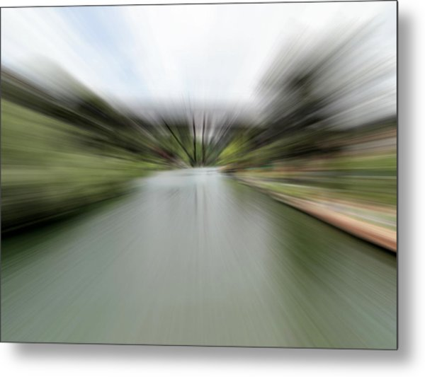 The Speed Of Calm Metal Print