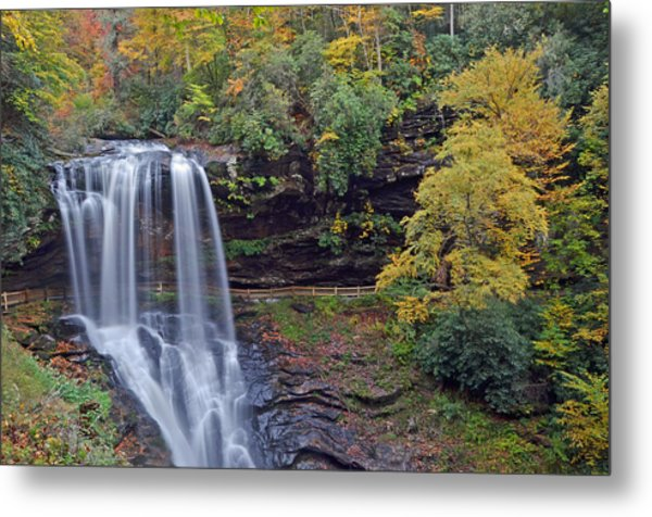 The Spendor Of Highlands Dry Falls Metal Print by Mary Anne Baker