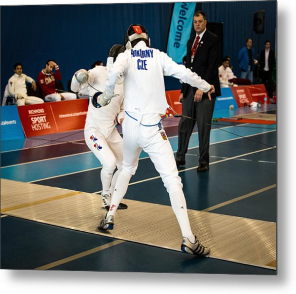 The Sport Of Fencing 1 Metal Print