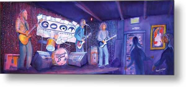 The Steepwater Band Metal Print