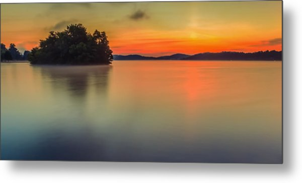 The Still And Quiet Dawn Metal Print