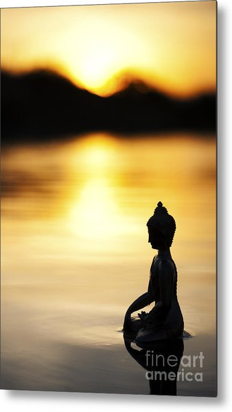 The Stillness Of Sunrise Metal Print