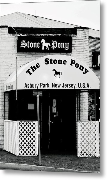 The Stone Pony Asbury Park Nj Metal Print
