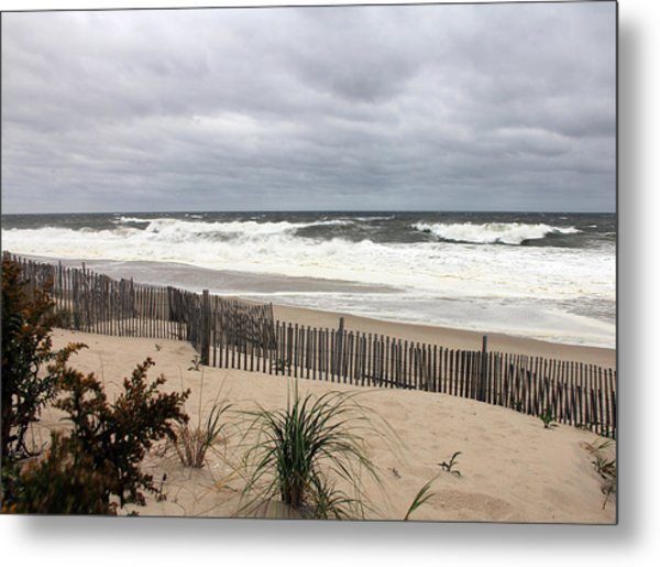 The Storm Nears Metal Print