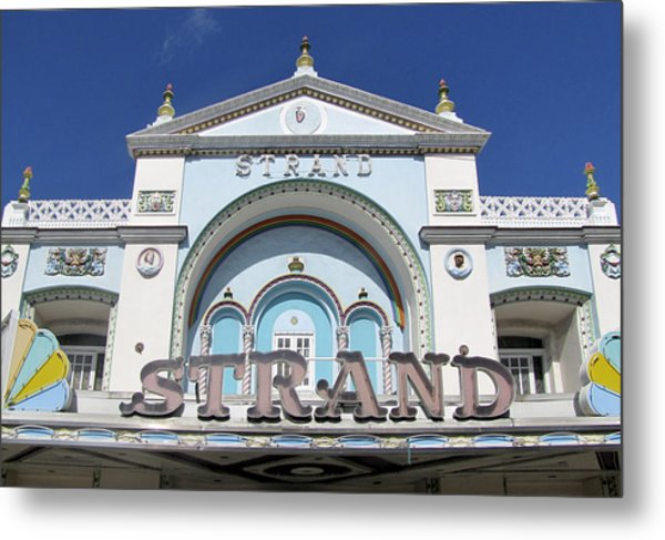 The Strand Key West Metal Print
