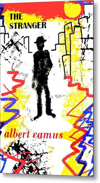 The Stranger Albert Camus Poster Metal Print