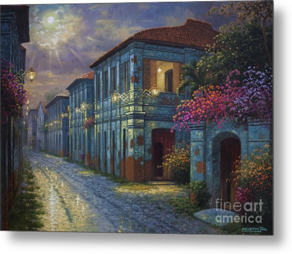 The Street We Used To Know Metal Print