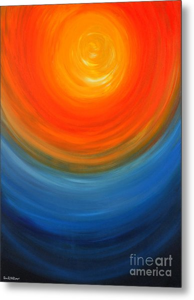 The Sun And The Sea Metal Print by Roni Ruth Palmer