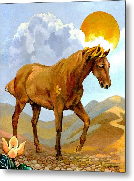 The Sun King Metal Print by Patricia Howitt