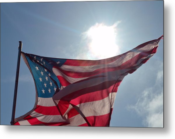 The Sun Of America 2 Metal Print by Sheldon Blackwell