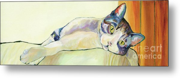 The Sunbather Metal Print