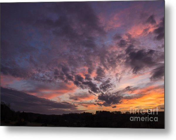 The Sunsets Glow Metal Print