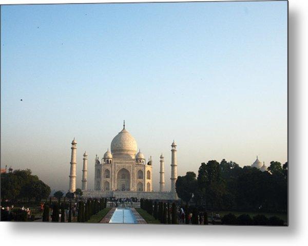 The Taj. Early Morning Metal Print