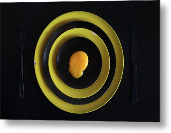 The Target. Or Sniper's Meal (improved Version) Metal Print