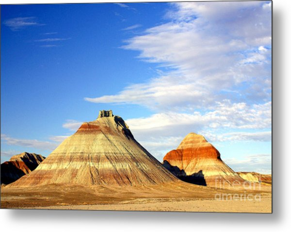 The Teepees Metal Print by Douglas Taylor