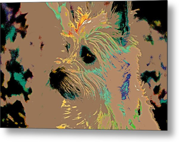 The Terrier Metal Print