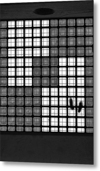 The Tetris Effect Metal Print