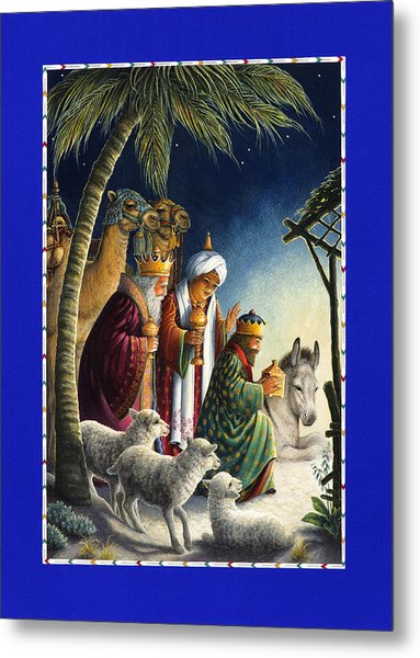 The Three Kings Metal Print