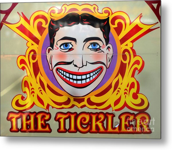 The Tickler Of Coney Island Metal Print