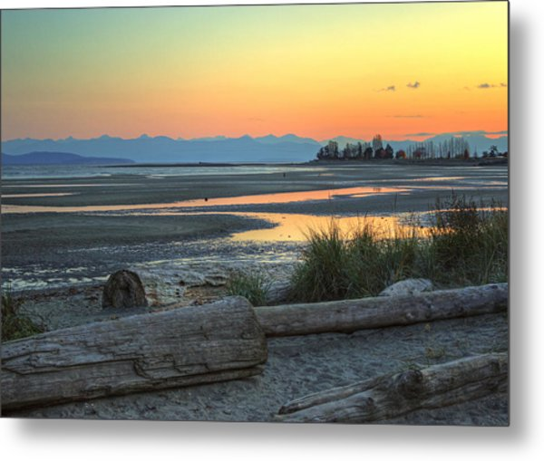 The Tide Is Low Metal Print