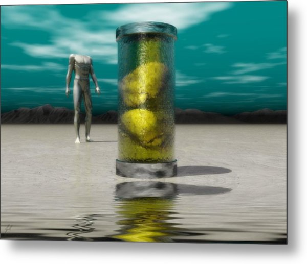 The Time Capsule Metal Print